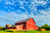 Red Hay Shed