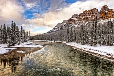 Bow River Ice Flow