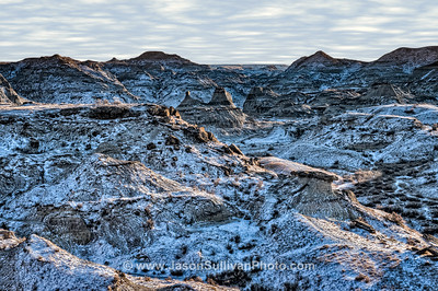 Snowy Badlands