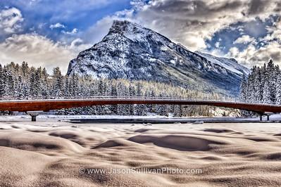 Winter River Crossing