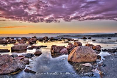 Rocky Cove Sunset