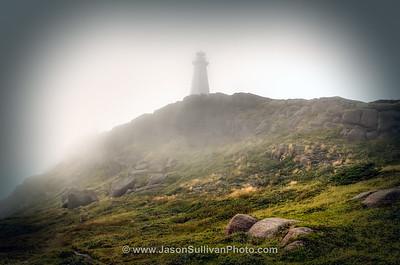 Climbing Cape Spear
