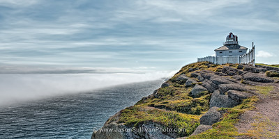 Ocean Fog Wall