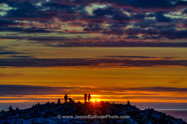 Capturing the Bonavista Sun