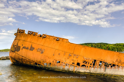 SS Charcot Wreck