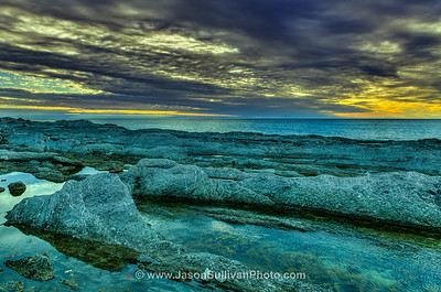 Sunset Rock Pools