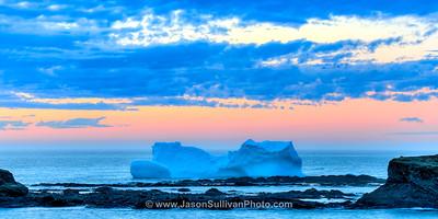 Last Light on the Iceberg