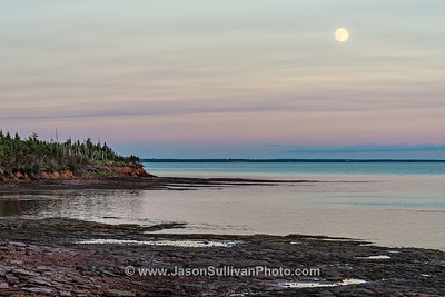 Moonrise at Point Prim