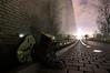 Boots at the Vietnam Memorial