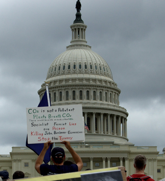 At a tea party protest. Yikes.