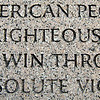Their Righteous Might (on the WW2 Memorial)