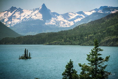 Wild Goose Island - St. Mary Lake