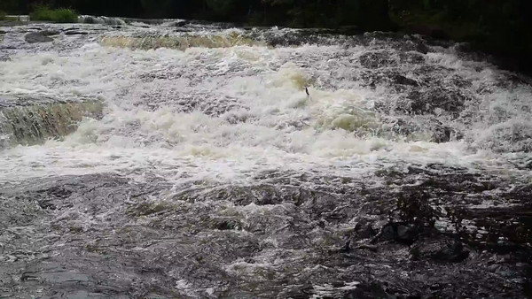 Bond Falls of the Ontonagon River
