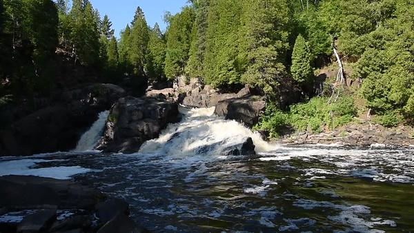 Baptism River Cascades