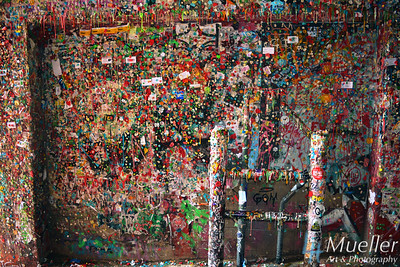 Gum Wall & Ladder, Seattle WA
