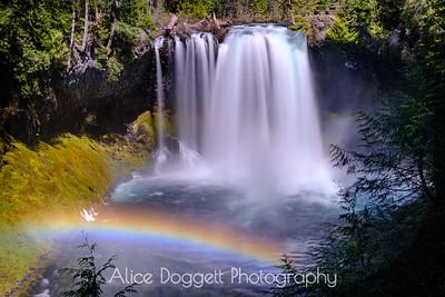 Waterfalls and Rainbows