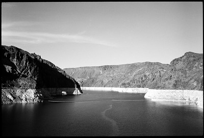 Hoover Dam / Lake Mead, 2012.