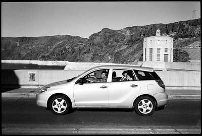 Vacationing Couple, Hoover Dam / Lake Mead, 2012.