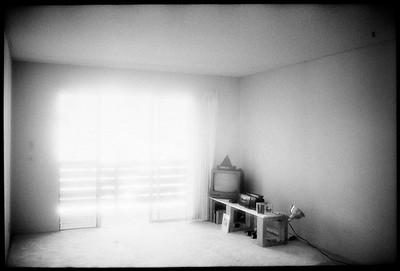 My old apartment,  Santa Cruz 1993.