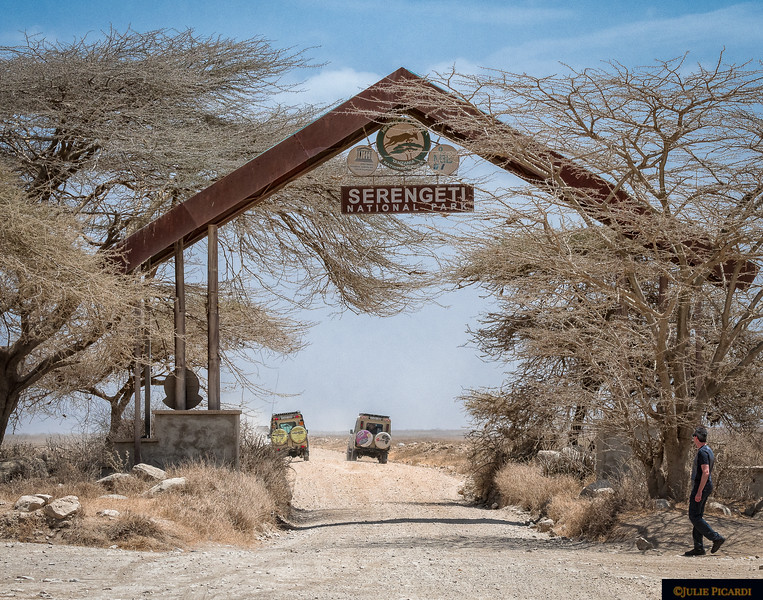 Entrance to Serengeti National Park