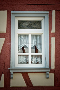Hessen 110: A Window in Erbach, Hessen Germany