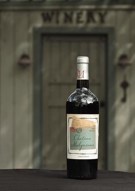 Rodrigue Molineaux Red Wine Bottle