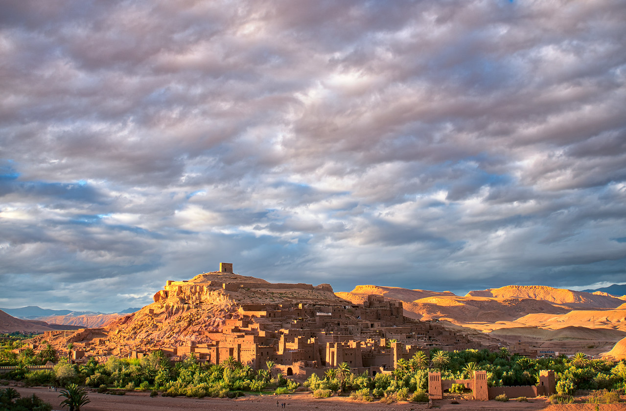 Sunset over Ait Ben Haddou Morocco - Photography workshop with Intentionally Lost and Kevin Wenning #intentionallylost