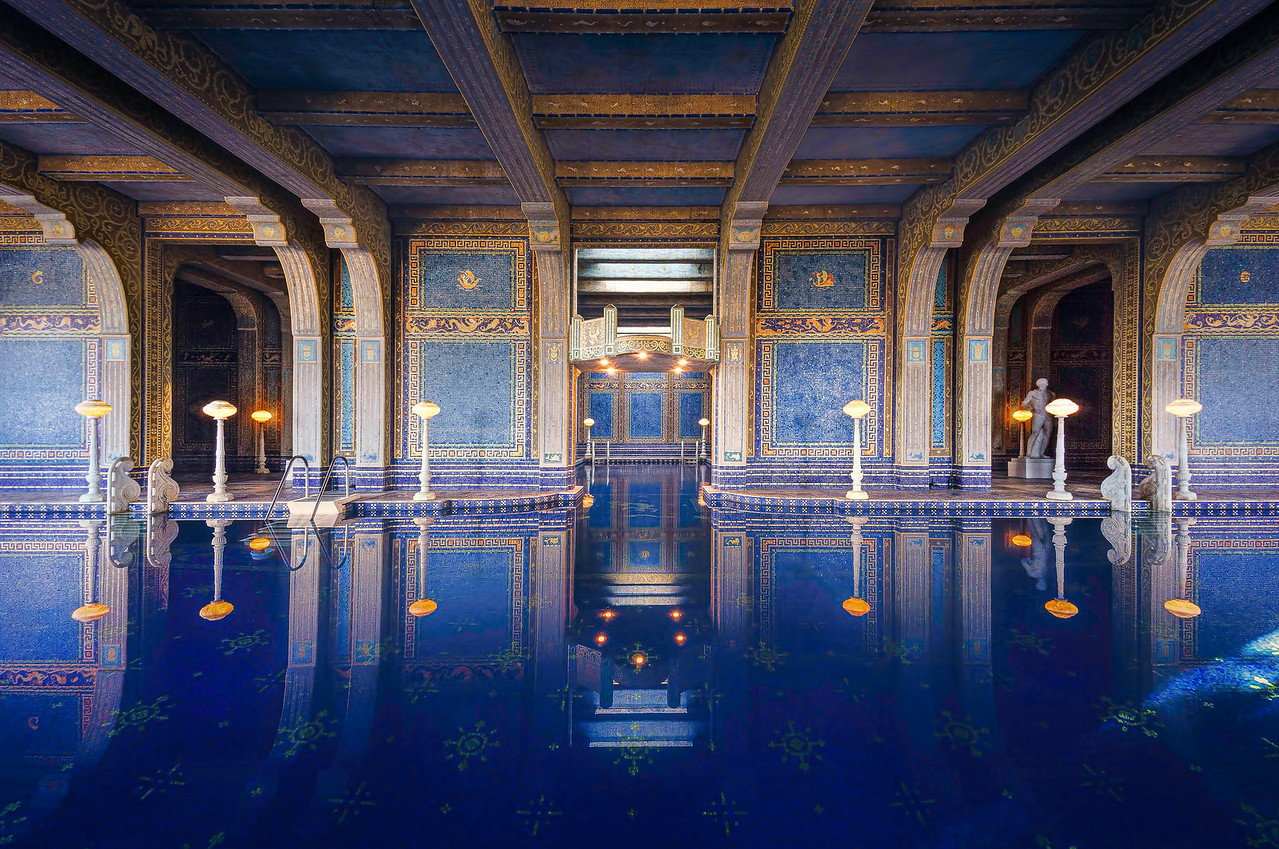 Neptune Pool at Hearst Castle with Intentionally Lost and Kevin Wenning #intentionallylost