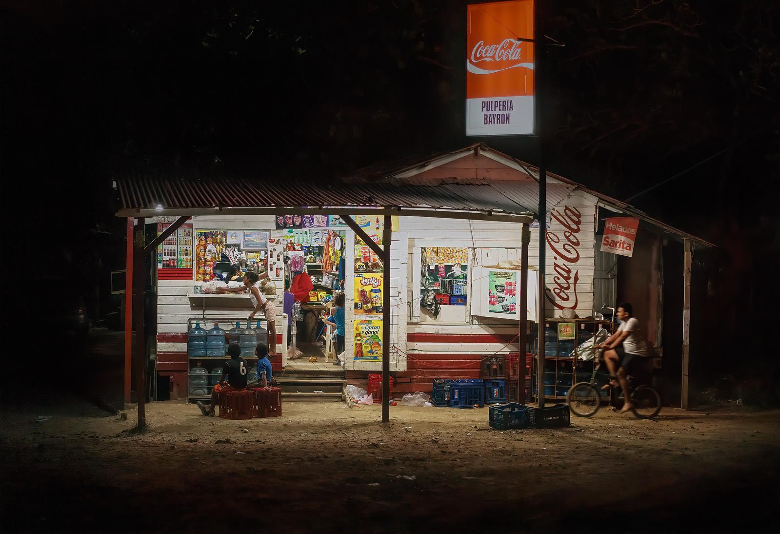 Late night snack run to the Coke stand in Roatan Honduras #intentionallylost