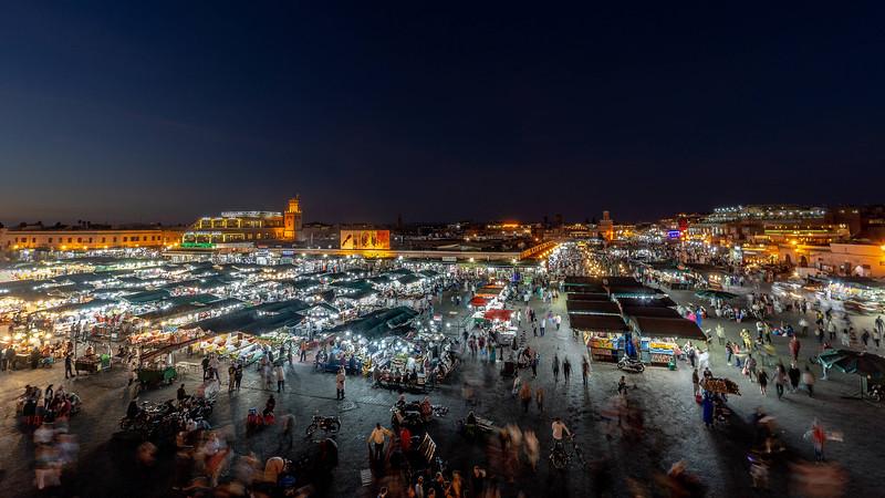 20181012KW-Marrakech_Medina_Dusk