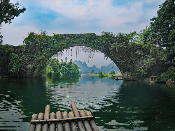 Yulong Bridge in Yangshuo China