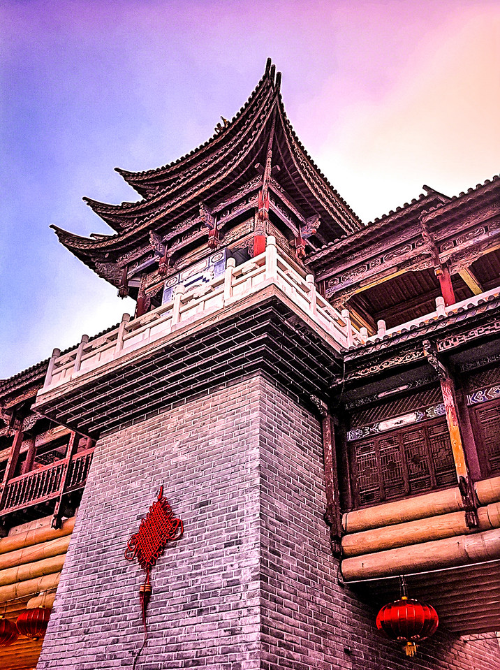 Ornate Tower in Beijing China with Intentionally Lost and Kevin Wenning #intentionallylost