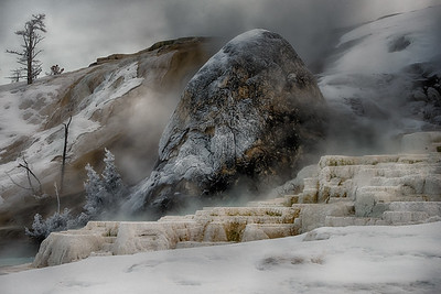 Mammoth Hot Springs; Yellowstone