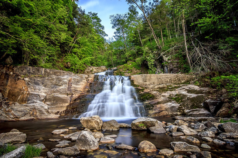 Kent Falls, Kent, Connecticut, USA.