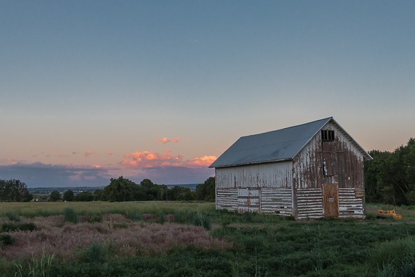 Sunset On the Barn