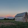 Sunset On the Barn