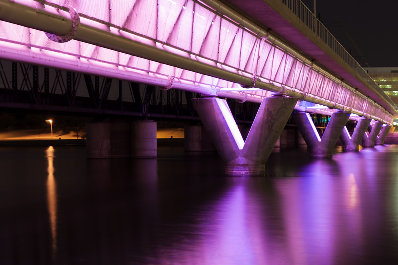 Tempe Town Lake, Purple