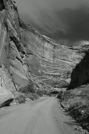 Deep Canyon, B&W