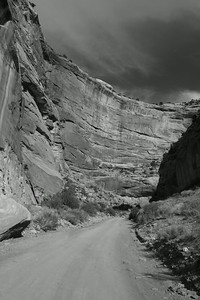 Deep Canyon, B&W