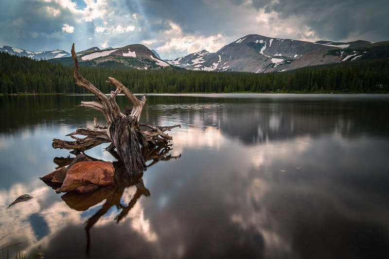 Brainard Lake Log - Afternoon