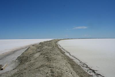 The Salt Flats Boarder