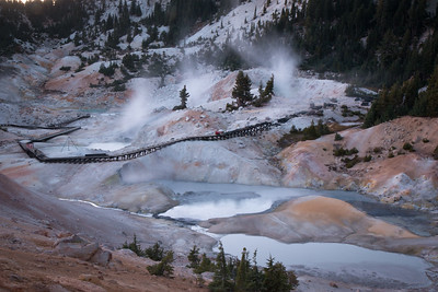 Bumpass Hell, Lassen Volcanic National Park, CA