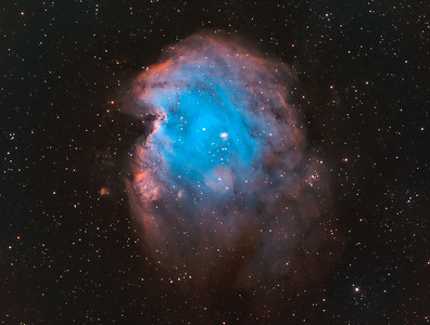 Monkey Head Nebula, NGC 2175 SHO