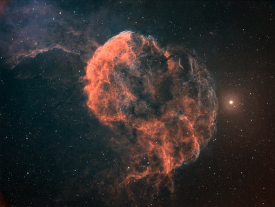 Jelleyfish Nebula, IC 443