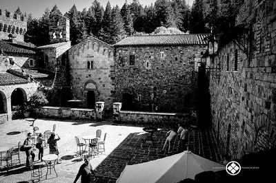 Wine Castle Courtyard