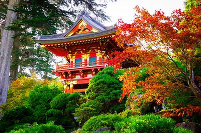 Fall Pagoda