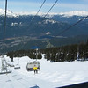 Vue en descendant Blackcomb.
