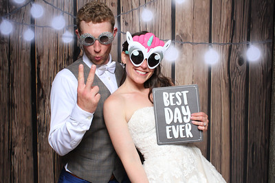 Colleen and Ryan's Wedding Reception Photo Booth