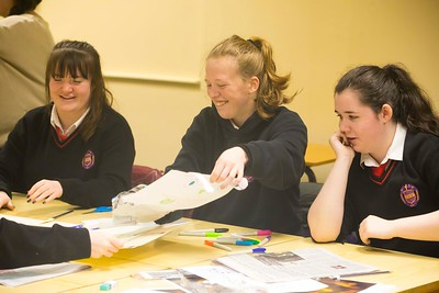 22/11/2017. Waterford Institute of Technology's (WIT) 'College Awareness Day. Pictured are Emma Weldon, Jody Fagan, Kate Power students from the Presentation Secondary School, Waterford City. Picture: Patrick Browne  Hundreds of secondary school students from across the South East celebrated College Awareness Week by attending Waterford Institute of Technology's (WIT) 'College Awareness Day' on Wednesday 22 November 2017. The events gave secondary school students a taste of college life and helped students of all ages to become 'college ready' by raising awareness of the benefits of going to college. There was an  hourly talk/workshop on how to become college ready (including presentations on college life), an expo area, and a chance to explore the campus. Students attended workshops on sport, electronics, sport and creative as well as presentations on college life at WIT, student supports, new courses for 2018, routes of entry and clubs and societies. They also got an overview of WIT's new common and broad entry courses for 2018.     Elaine Larkin Communications & PR Executive, Waterford Institute of Technology   Phone: +353 51 845577  Mobile: 087-7105148