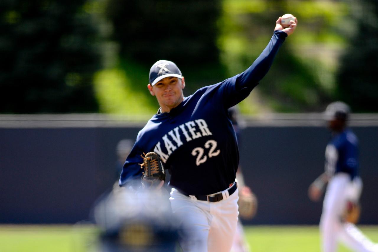 NCAA baseball 2013 - April 20 -Charlotte at Xavier University
